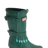 "Women's Hunter 'Original' Fringe Front Rain Boot, 1"" heel"