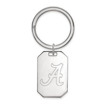 NCAA Sterling Silver U of Alabama Key Chain