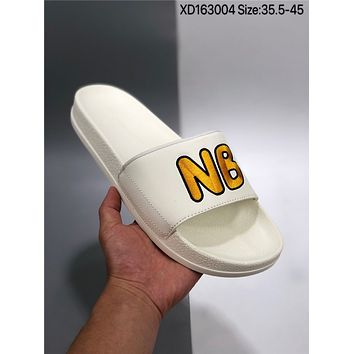 New NEW BALANCE X cheap Men's and women's nike Slippers Beach shoes