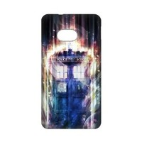 Doctor Who HTC ONE M7 Case Cover Protecter - Retail Packaging - Durable Plastic