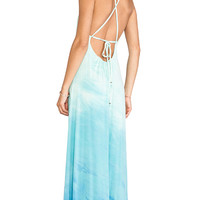 Gypsy 05 Desouk Tie Back Maxi Dress in Mint