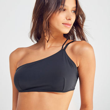 Out From Under Devin Asymmetrical One-Shoulder Bra | Urban Outfitters