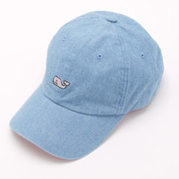 Shop Chambray Whale Logo Baseball Hat at vineyard vines