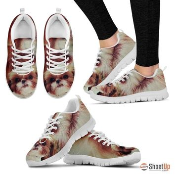 Shih Tzu-Dog Running Shoes For Women-Free Shipping