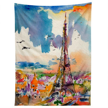 Ginette Fine Art Under Paris Skies Tapestry