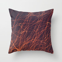 Firefly Throw Pillow by Eric Dufresne
