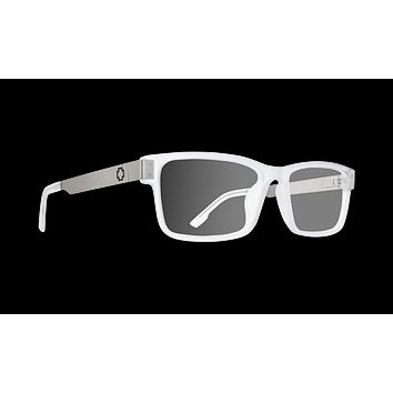 Spy - Hale 58mm Matte Silver Matte Clear Eyeglasses / Demo Lenses