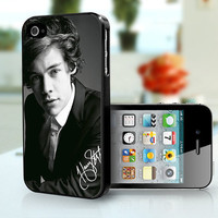 One Direction Harry Styles  iPhone 4 iPhone 4s case by 4JustNCASE