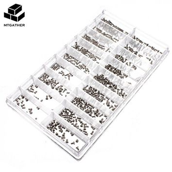 900Pcs/Set Stainless Steel Tiny Screws For Eye Glasses/Watch/Clock