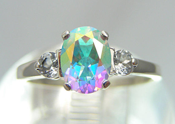 ring and image yellow ramsdens rings jewellery mystic topaz diamond gold