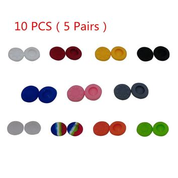 10 Pcs Multi Color Silicone Thumb Stick Cap Cover for PS3/ XBOX 360/Xbox One Grips Analog Controller Anti-Slipping Joystick Cap