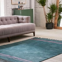 Luna Chenille Stripe Rug | Urban Outfitters