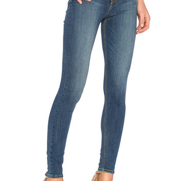 GRLFRND Kendall High-Rise Super Stretch Skinny Jean in You and Me Against the World | REVOLVE