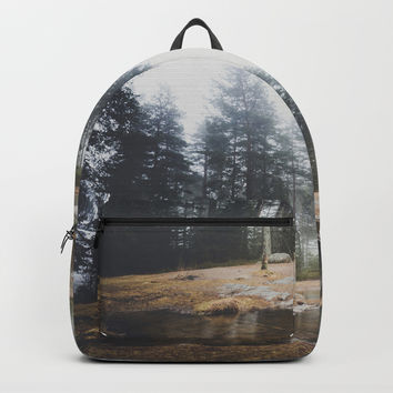 Moody mornings Backpack by happymelvin