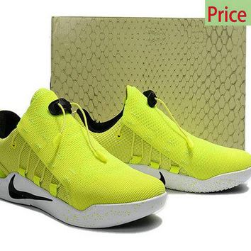 cheap e fit shoes Nike Kobe AD NXT Neon Bright Yellow sneaker