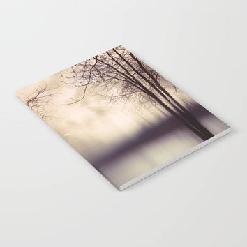 Notebook - Tree and Water Photograph - Brown - Blank Book - Lined - Unlined - Made to Order