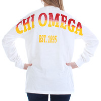 Chi Omega Color Series Stadium Jersey