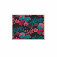"""Zara Martina Mansen """"Berry Color Bouquet"""" Teal Pink KESS Naturals Canvas (Frame not Included)"""