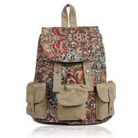Backpack With Ethnic Style Patten P.. on Luulla