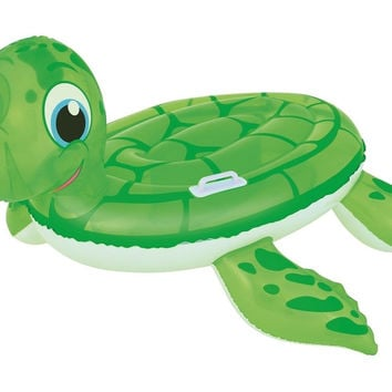 H2OGO! Turtle Ride On Inflatable Pool Float