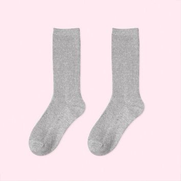 Essential Star Quality Socks | Light Grey