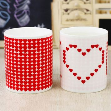 I Love You Magic Color Change Ceramic Morning Mug Valentine's Day