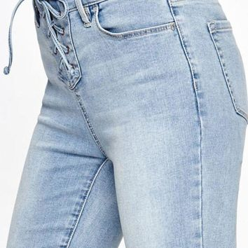 ONETOW PacSun Lasso Blue Perfect Fit Jeggings at PacSun.com