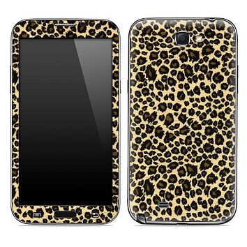 Leopard Animal Print Skin for the Samsung Galaxy Note 1 or 2
