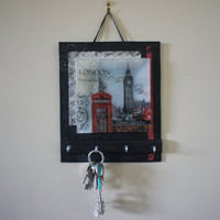 Key Holders, Key Rack, Key Hook, Key Hanger all in London, Paris or New York Wall Key Holders
