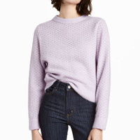Mohair-blend Sweater - from H&M