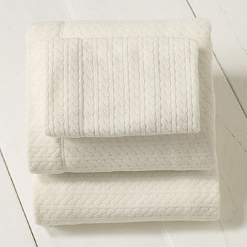 Cabled Fleece Sheet Set | Now on sale at L.L.Bean