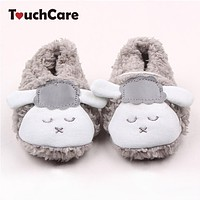 Newborn Cotton Baby Boys Girls First Walkers Cute Sheep Soft Baby Shoes Slipper Crib Shoes