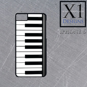 Custom Made Piano Keys Iphone 6 Case Piano Cell Phone Case Music iphone cell phone case Iphone 6 cover