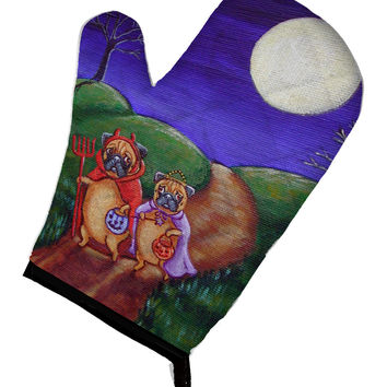 Trick or Treat Halloween Pug Oven Mitt 7281OVMT