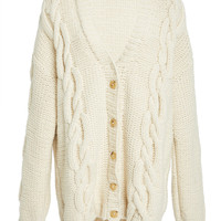 Exploded Cable Knit Cardigan | Moda Operandi