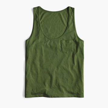 Tank top in Supima® cotton