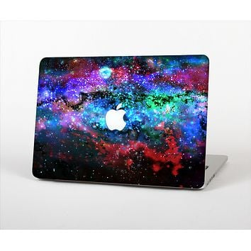 The Neon Colored Paint Universe Skin Set for the Apple MacBook Air 11""
