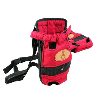 Travel Dog Shoulder Backpack Breathable Carrier
