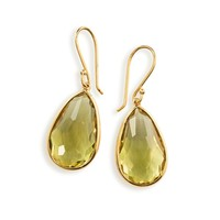 Rock Candy® 18K Gold Single Medium Teardrop Earrings