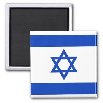 Magnet with Flag of Israel
