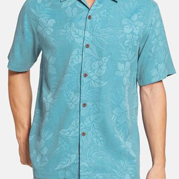 Men's Big & Tall Tommy Bahama 'Palms over Paradise' Camp Shirt