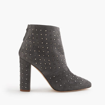 J.Crew Womens Adele Crystal Suede Boots