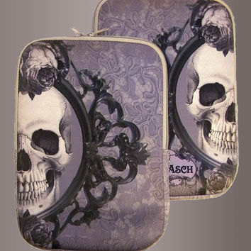 Two Halves Make a Whole Skull Skull iPad Tablet Case