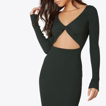 Center Stage Midi Dress