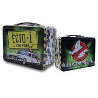 Ghostbusters Ecto 1 Tin Tote Lunch Box