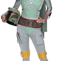 Star Wars Boba Fett Female Adult Bodysuit