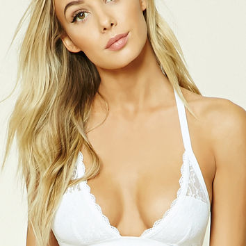 Lace Y-Back Bralette
