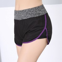 Sports Shorts Gym Jogging Slim Yoga Pants Sportswear [11405555855]