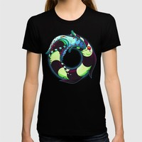 Sand Jormungand T-shirt by Artistic Dyslexia | Society6