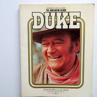 Vintage Duke The John Wayne Album Book 1979